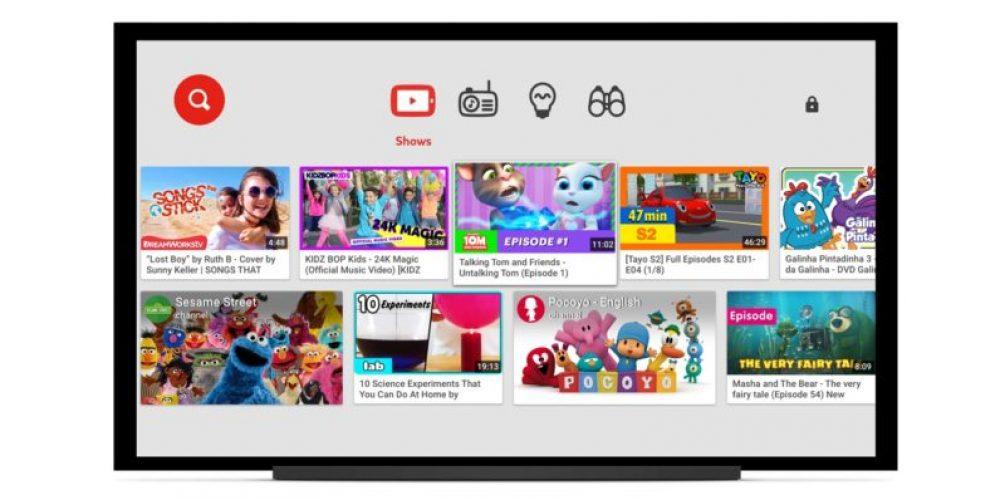 YouTube Kids lanza su propio sitio web para niños