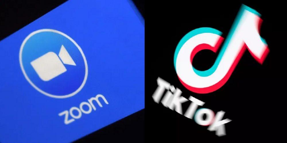 Zoom superó el record de descargas de TikTok