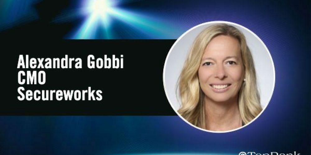 B2B Marketing Spotlight: Alexandra Gobbi, CMO at Secureworks #B2BSMX