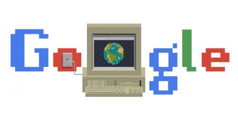 Google conmemora el nacimiento de Internet con un Doodle