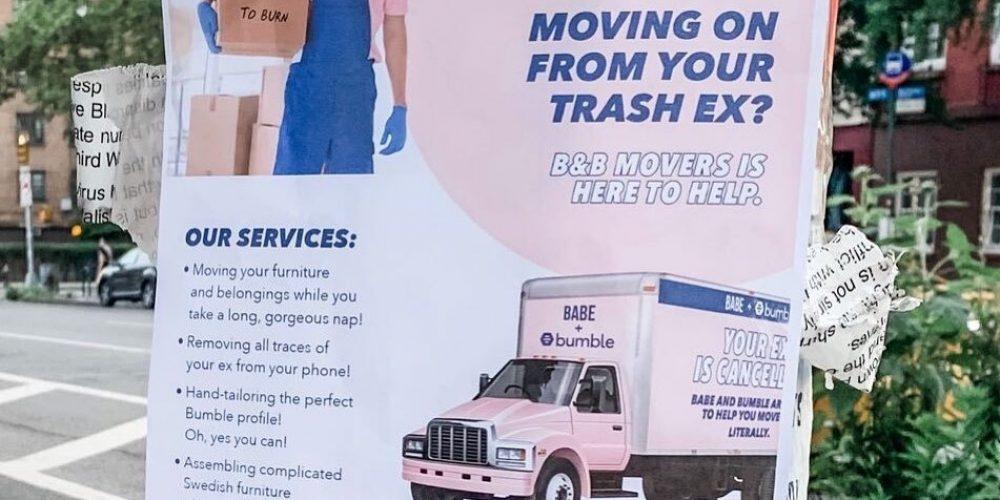 Estas dos marcas se han unido para ayudar con las rupturas durante la pandemia con un servicio de mudanza gratuito