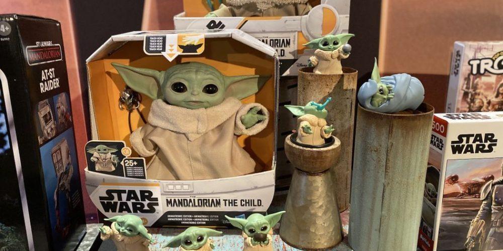 Disney ha lanzado un muñeco animatronic de Baby Yoda… y mucho más merchandising