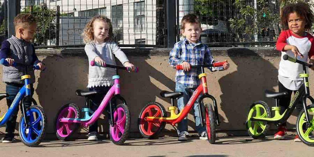Bicicletas sin pedales: ¿qué beneficios que tiene para los niños?