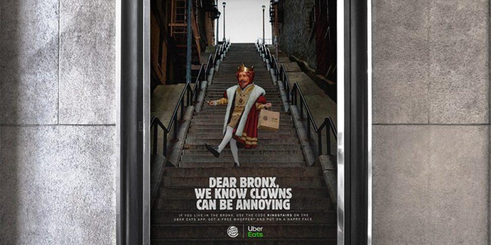 """Burger King regala Whoppers a los vecinos del Bronx por aguantar a los visitantes de las """"escaleras del Joker"""""""