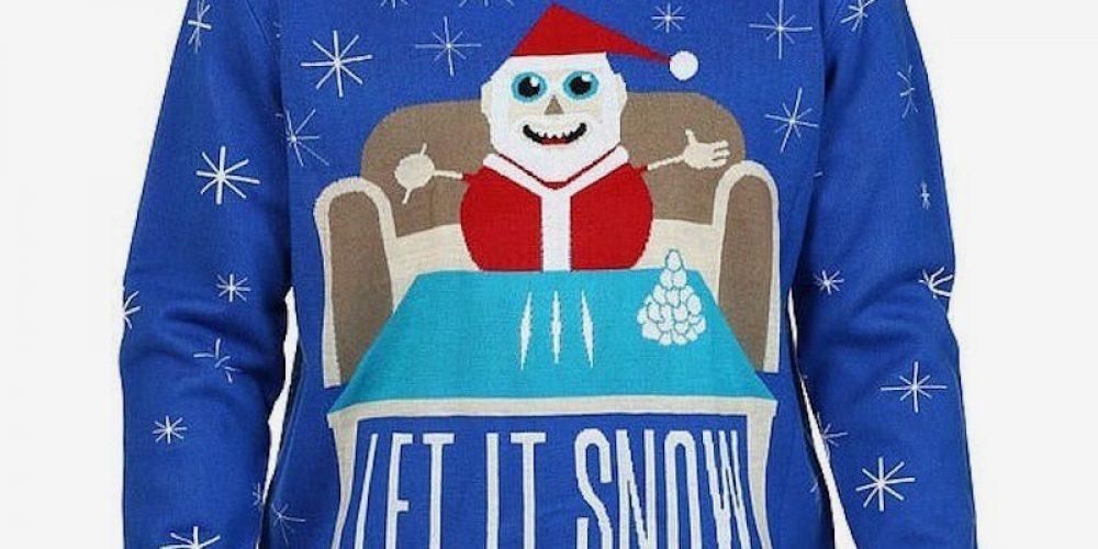 El caso del jersey de Papá Noel con cocaína que fue retirado de Walmart y ahora es líder de ventas en Amazon