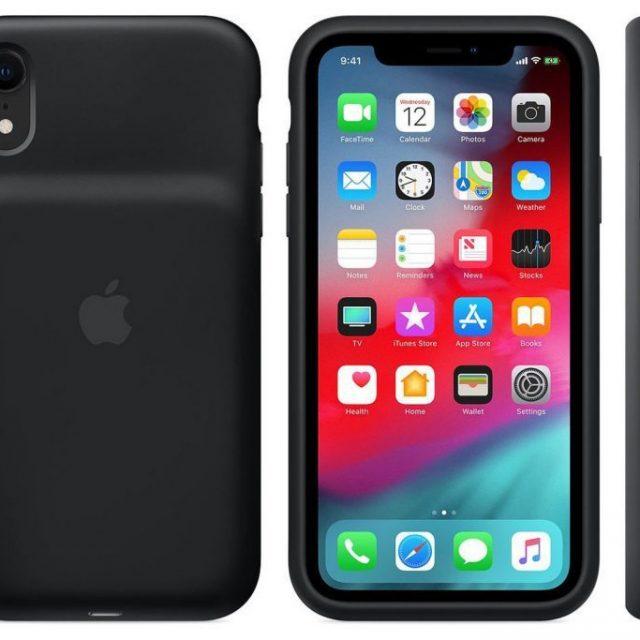Apple lanza sus nuevas fundas de carga con batería incorporada para iPhone XS y XR