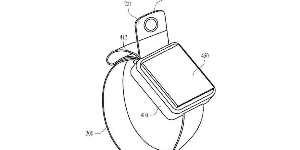 Apple patenta una nueva banda de Apple Watch con cámara ajustable