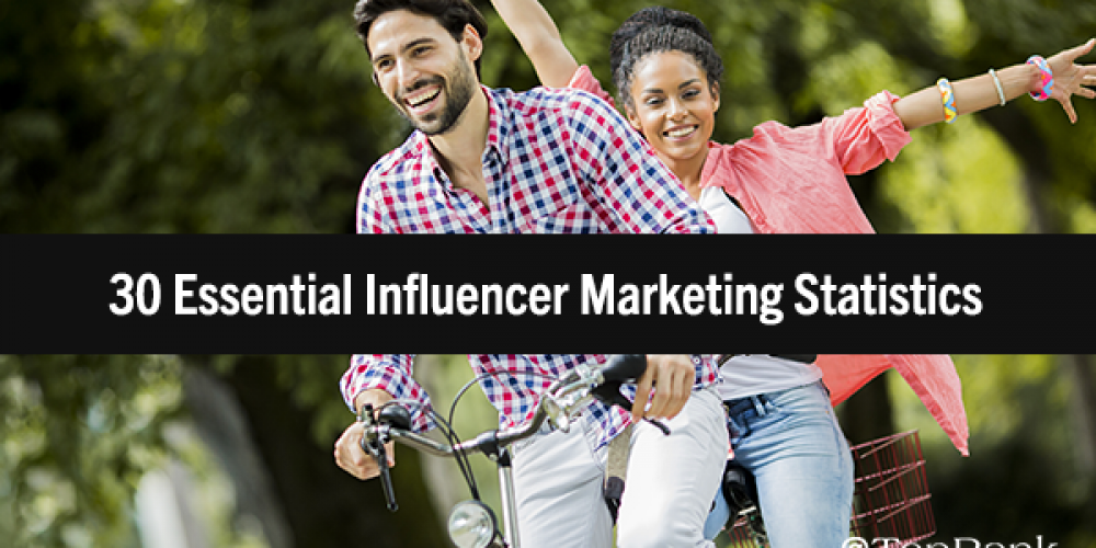 The Next Level of Influence: 30 Essential Influencer Marketing Statistics