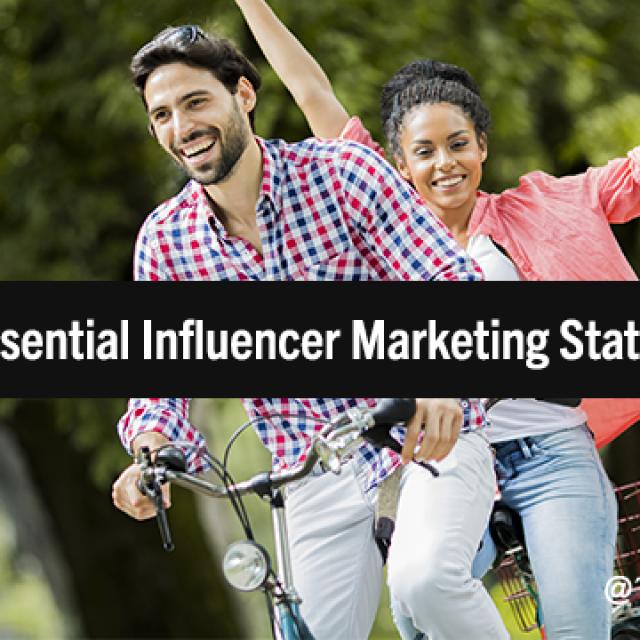 The Next Level of Influence: 30 Essential Influencer Marketing Statistics