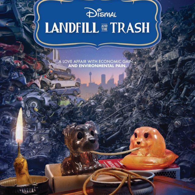 Parodias de pósters de películas Disney para denunciar la contaminación que generan los juguetes plásticos