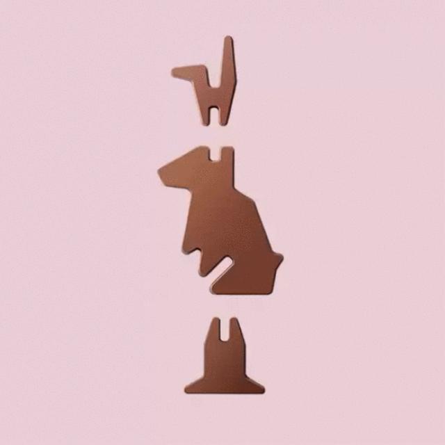 IKEA ha lanzado un conejo de Pascua de chocolate… y se monta como sus muebles