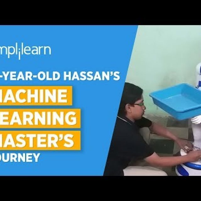 Age Is Just A Number | 13-year-old Hassan's Machine Learning Master's Journey | Simplilearn Reviews