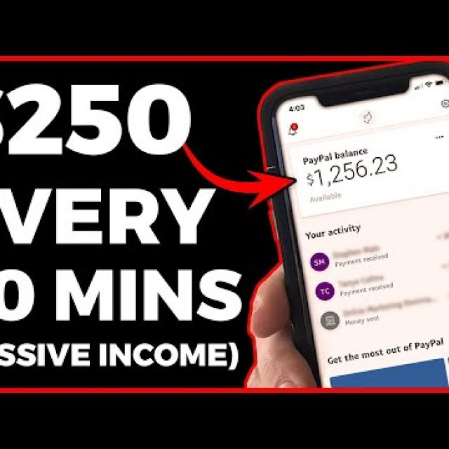 Earn $250 In 1.5 Hours Over & Over! (Online Passive Income)