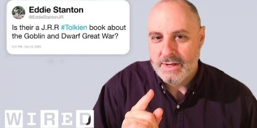 The Lord of the Rings Expert Answers Tolkien Questions From Twitter | Tech Support | WIRED