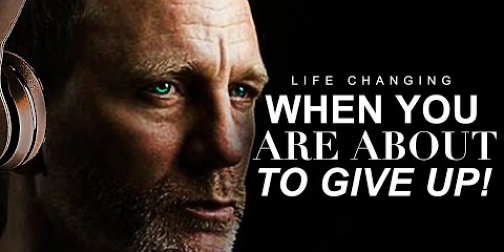 WATCH WHEN YOU FEEL LIKE GIVING UP! – New Motivational Video for Personal Growth & Studying!