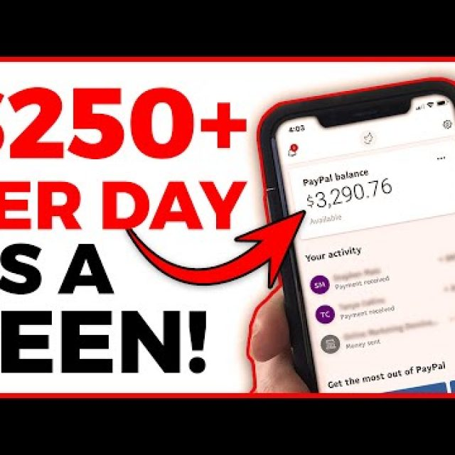 Earn $250 Daily as a TEEN (How to Make Money Online)