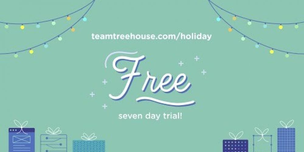 Treehouse Holiday Sale 2020!