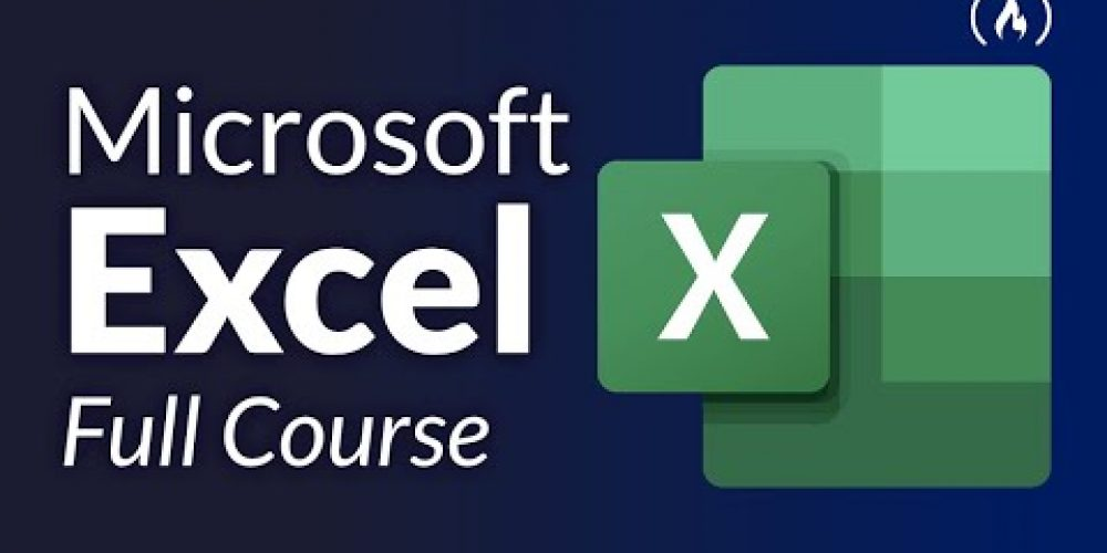 Microsoft Excel Tutorial for Beginners – Full Course