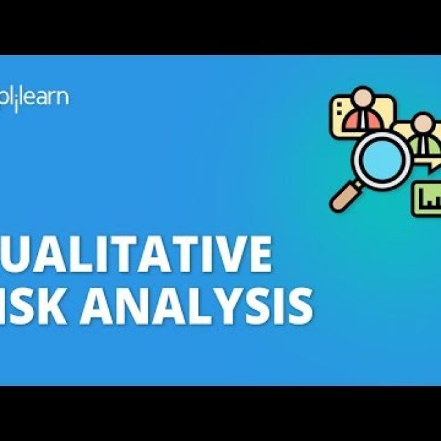 Qualitative Risk Analysis | What Is Qualitative Risk Analysis? | PMI-RMP Course | Simplilearn