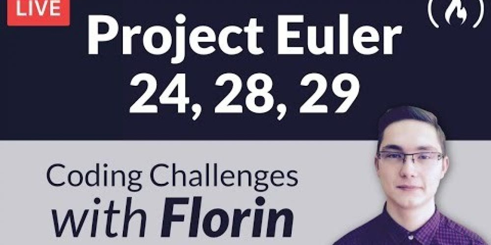Project Euler Challenges 24, 28, 29 – Coding Challenges with Florin