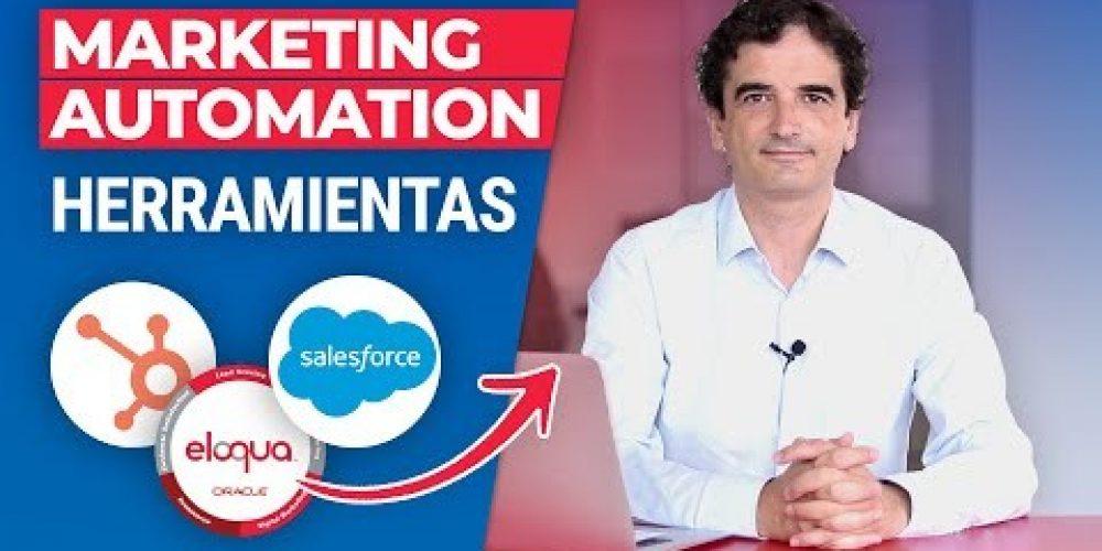 Herramientas de Automatización del Marketing o Marketing Automation