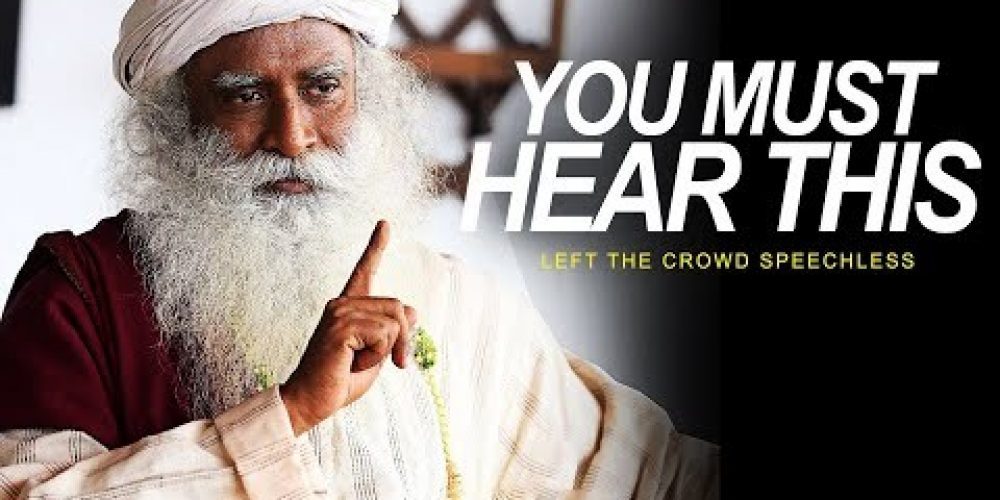 His Answer Leaves the Audience SPEECHLESS | One of the Best Speeches Ever – Sadhguru
