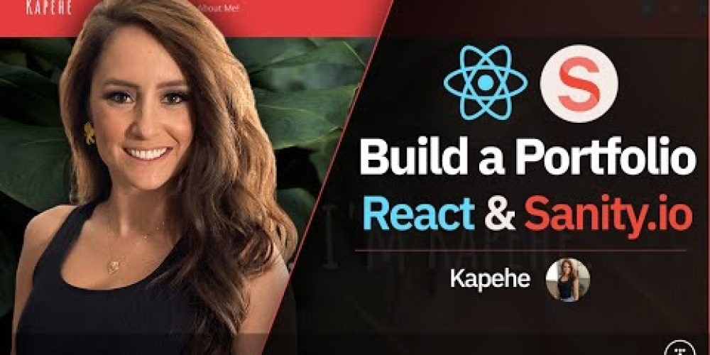 Build a Portfolio Website With React & Sanity.io