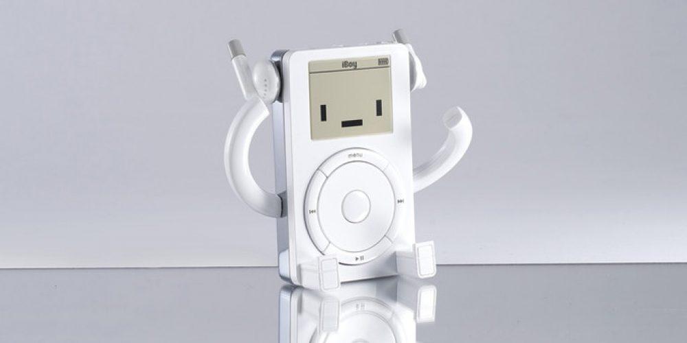 Un homenaje al iPod en forma de muñeco articulado