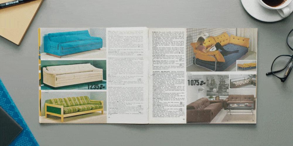 IKEA publica en su web los 72 catálogos de su historia, desde 1950 hasta 2021