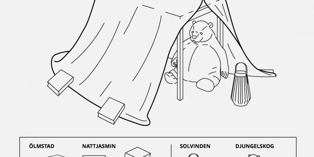 IKEA comparte las instrucciones para construir refugios para que los niños jueguen durante la cuarentena