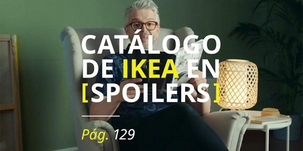 IKEA destripa su catálogo a base de spoilers en esta campaña
