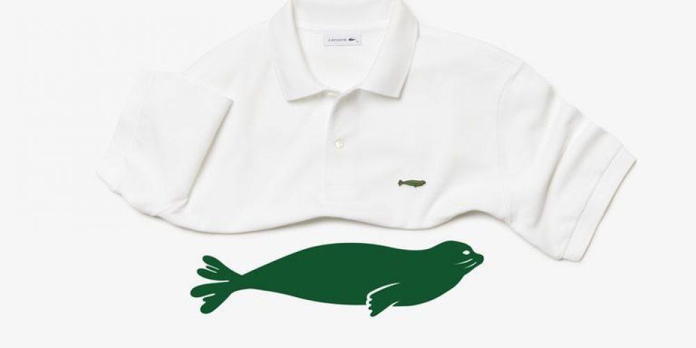 Lacoste vuelve a cambiar el cocodrilo de su logo por animales en peligro de extinción
