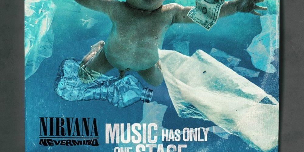 Esta campaña retoca las portadas de discos famosos para mostrar las consecuencias de la contaminación