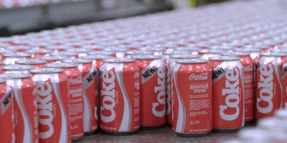 """Coca-Cola va a relanzar su fallida New Coke gracias a """"Stranger Things"""""""