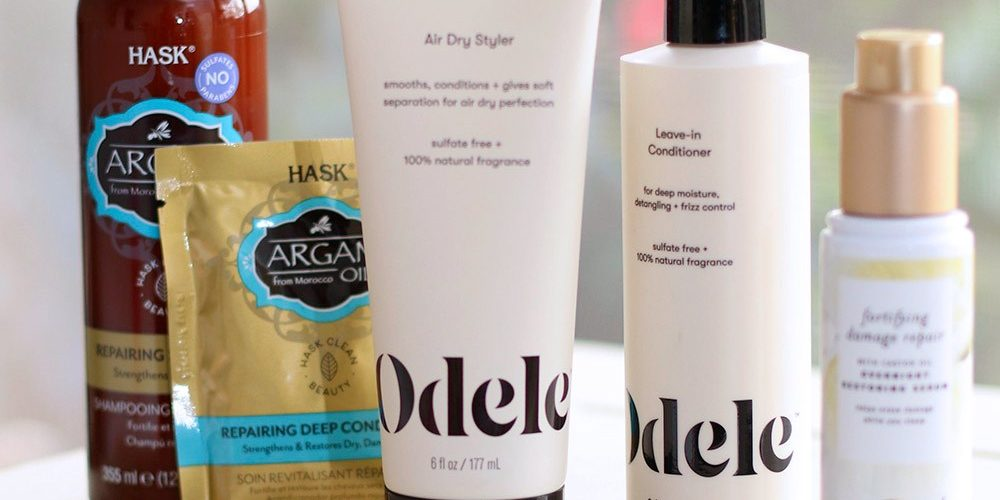 Target Hair Haul! Help for Dry, Thirsty Hair With Hask Argan Oil Hair Mask and Shampoo, Pantene Damage Repair Nourishing Overnight Restoring Serum, Odele Leave-In Conditioner and Air Dry Styler