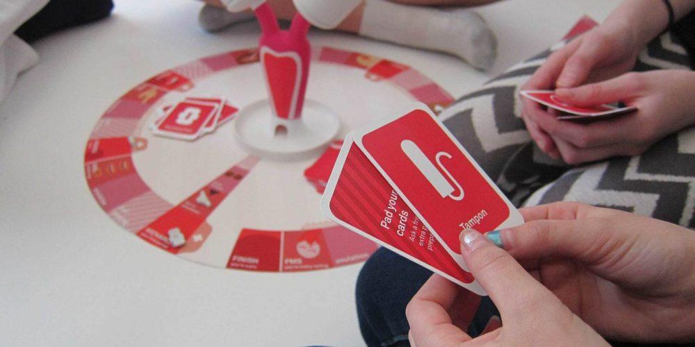 The period game, un juego de mesa para acabar con los tabús sobre la menstruación