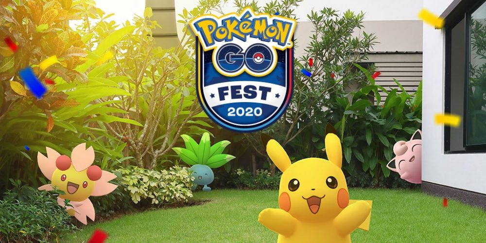 El festival anual de Pokémon GO 2020 será virtual