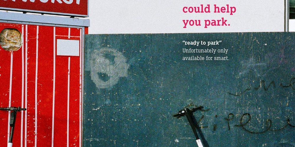 Smart se burla de los patinetes eléctricos en esta campaña